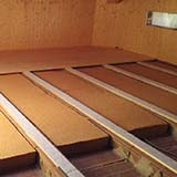 FiberTherm flex flexible Fiber Wood Insulation under roof