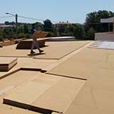 Fiber Wood Insulation roof with cement bonded particle boards