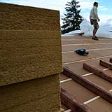 FiberTherm Fiber Wood Insulation roof density 160