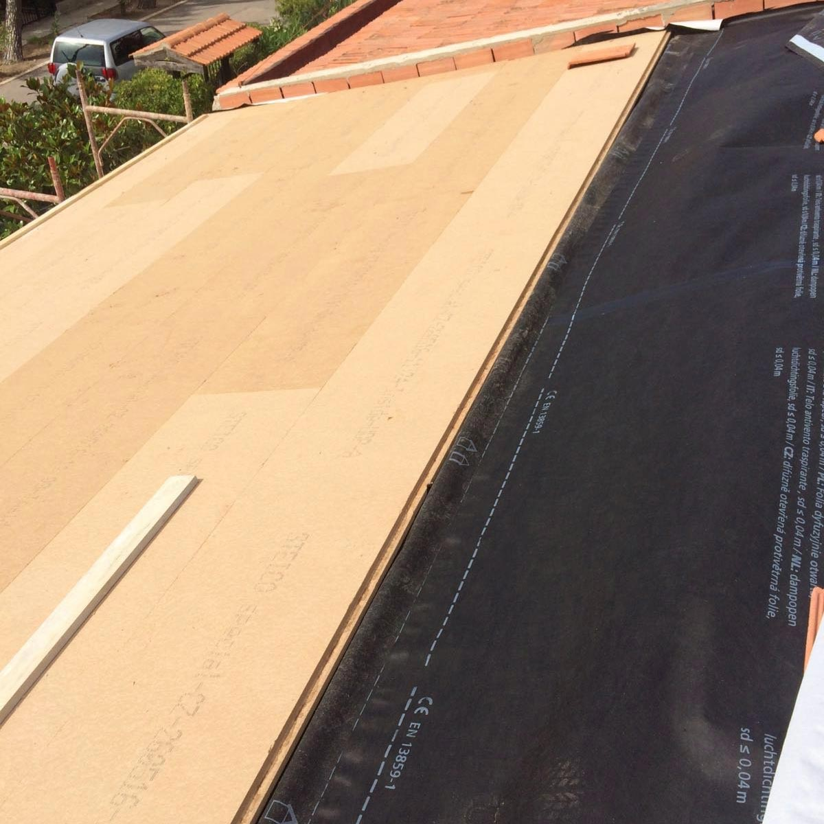 Fiber Wood Insulation FiberTherm Special pitched roof insulation